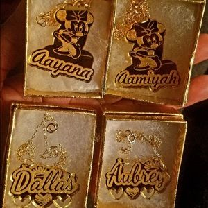 Jewelry - Name Plates